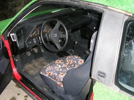 Honda CRX, versión de jardin