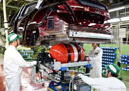 Producción Honda FCX Clarity
