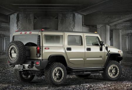 Hummer H2 Safari Offroad Concept