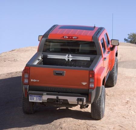 Hummer H3T 2009, fotos oficiales