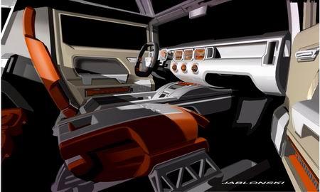 Imágenes oficiales del Hummer HX Concept