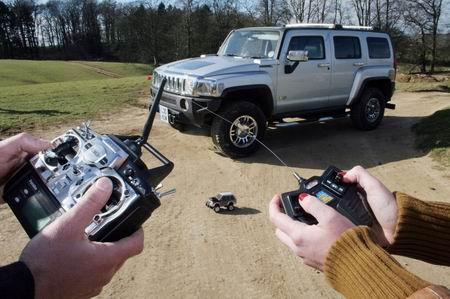 Hummer Life-Size, un H3 por control remoto