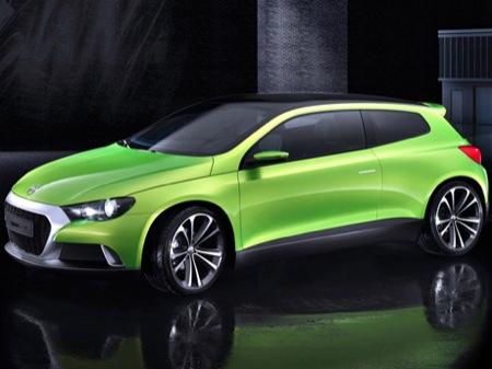 Volkswagen Scirocco Iroc Concept