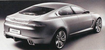 Posibles fotos oficiales del Jaguar XF Concept