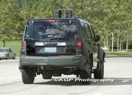 Fotos espía del Jeep Liberty 2008