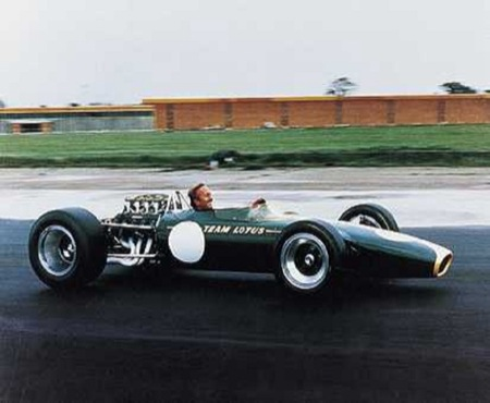 Lotus Type 49 F1 de Jim Clark