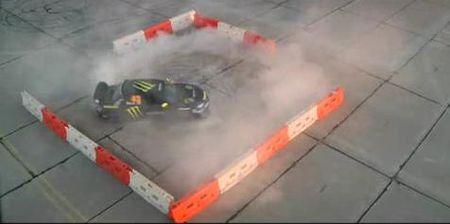 Cómo hacer una gymkhana con un Subaru Impreza WRX STI, vídeo