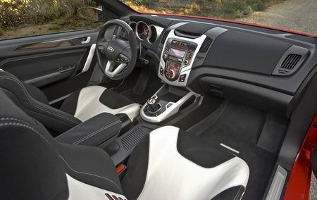 Kia Koup Concept, anticipación del coupé basado en el Cee'd