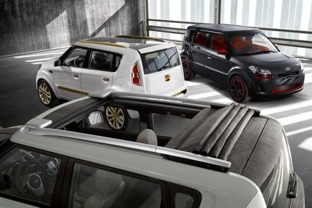 Kia Soul, tres prototipos de Crossover