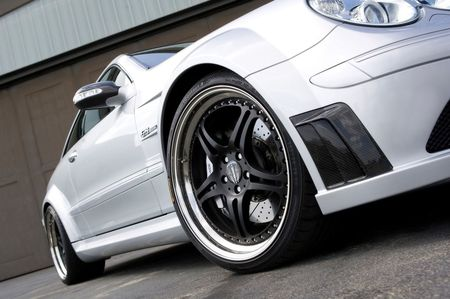Kicherer Mercedes CLK 63 AMG Black Edition Racer