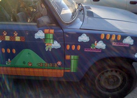 Lada Riva edición especial Super Mario