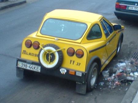 Lada con nueva carrocería coupé