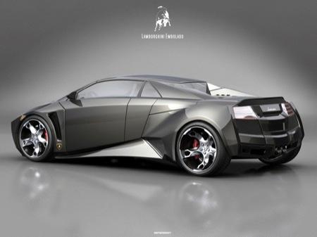 Lamborghini Embolado Concept, diseño de un estudiante