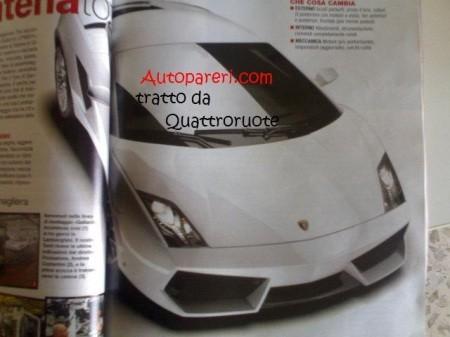 Lamborghini Gallardo LP550, fotos espía