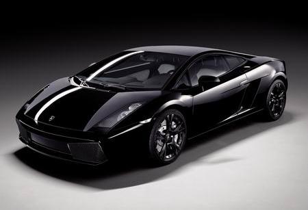 Произведено 185 единиц.  Lamborghini Gallardo Nera '2007 дизайн.