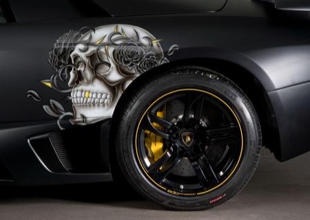 Lamborghini Murciélago LP710-2 de Edo Competition retocado por Christian Audigier