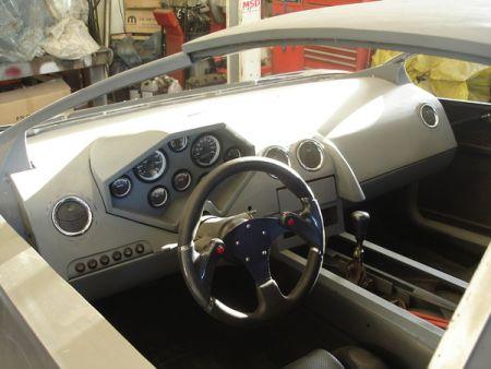 Una réplica del Lamborghini Reventón a partir de un Pontiac Fiero