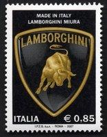 Sellos de Lamborghini en Italia