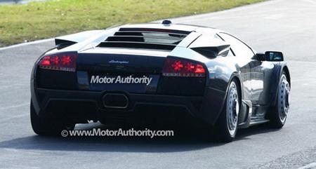 Lamborghini Jota, futuro nuevo Murciélago en fotos espía