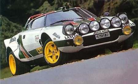 lancia stratos la maquina ligera y veloz del rally - coches y motos