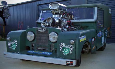 Land Rover Defender Dragster, ¿a dónde vamos a llegar?