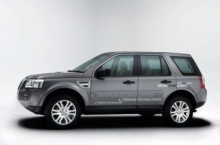 Land Rover ERAD Hybrid con e_Terrain Technologies