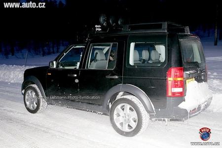 Land Rover Discovery, fotos espía