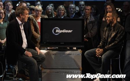 Hamilton en Top Gear