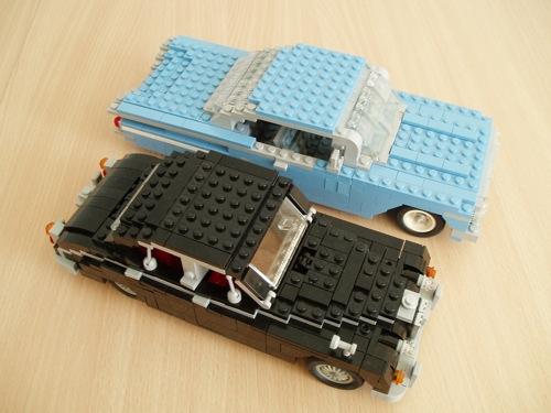 LEGO: Chevrolet Impala y Jaguar MK2