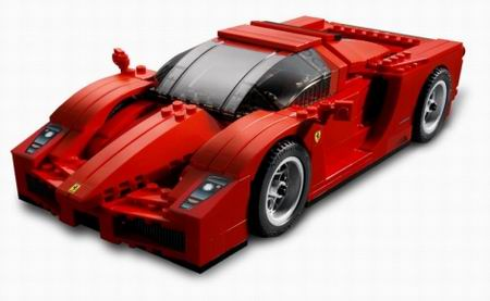 fábrica de coches creada con piezas de lego estoy seguro de que