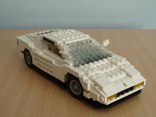 LEGO: Ferrari Testarossa