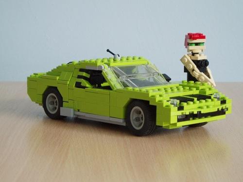 LEGO: Lamborghini Miura