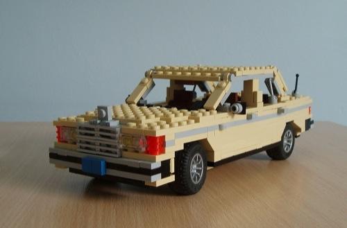 LEGO: Mercedes W123