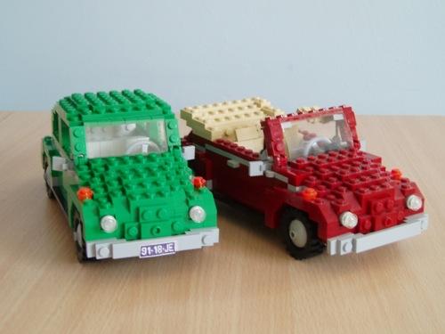 LEGO: Volkswagen Beetle y Beetle Cabrio