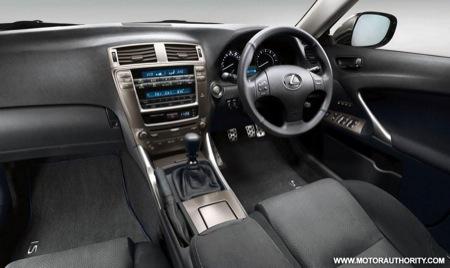 Paquete deportivo para el Lexus IS 250, todavía más elegante