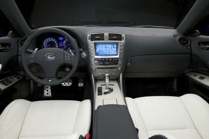 Lexus IS-F en Detroit
