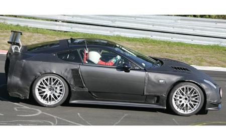 Fotos espía del Lexus LF-A