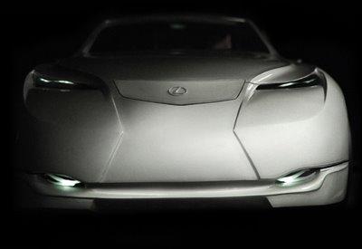 Lexus LF SS Concept, diseño personal para un híbrido solar