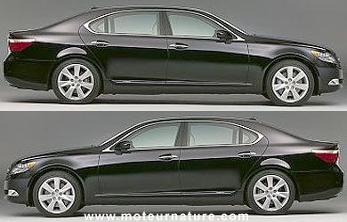 Lexus LS600h híbrido para el 2008