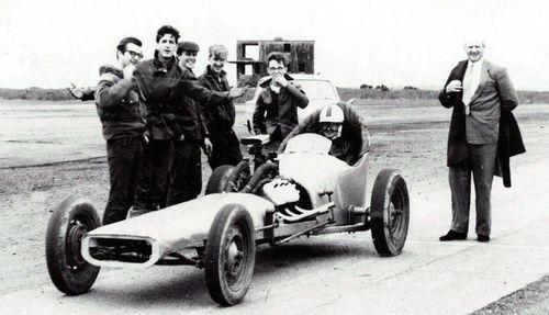 Los inicios del drag racing en imágenes