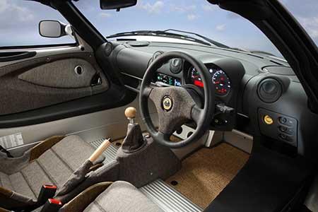 Lotus Eco Elise interior