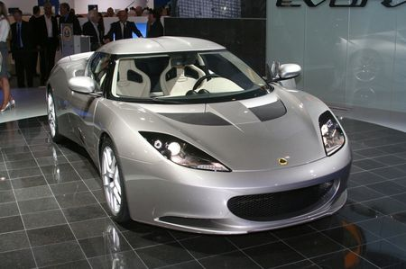Lotus Evora en Londres 2008