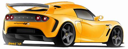 Lotus Exige GT3, primeras imágenes