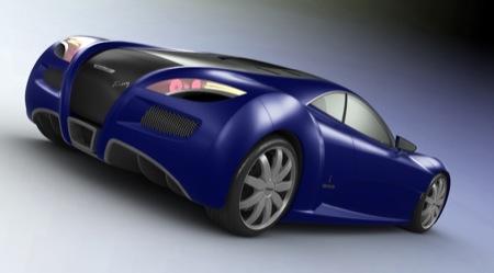 LusoMotors Voisin Concept, esto parece un Veyron