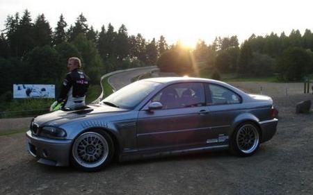BMW M3 CSL turbo en Nürburgring