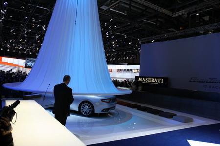 Maserati GranTurismo en el Salón de Ginebra