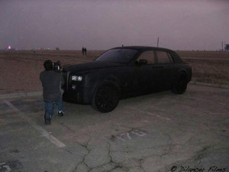 Rolls Royce Phantom en negro mate