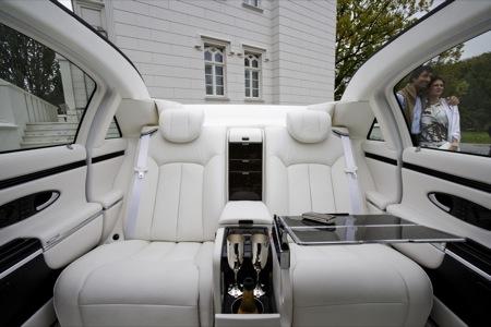 maybach landaulet limusina lujosa y descapotable. Black Bedroom Furniture Sets. Home Design Ideas