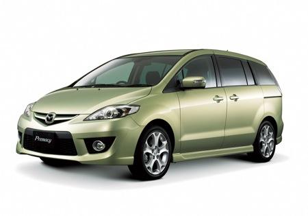Fotos del restyle del Mazda 5 para el 2008