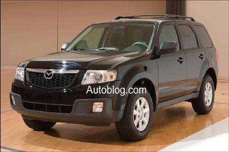 Primeras fotos del Mazda Tribute